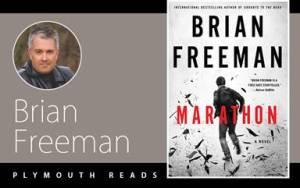 Photo of author Brian Freeman. book cover for Brian Freeman's Marathon