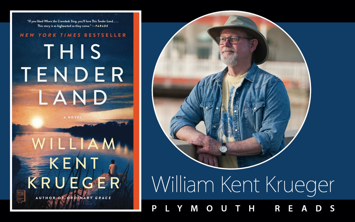 Image of This Tender Land book cover and photo of author William Kent Krueger